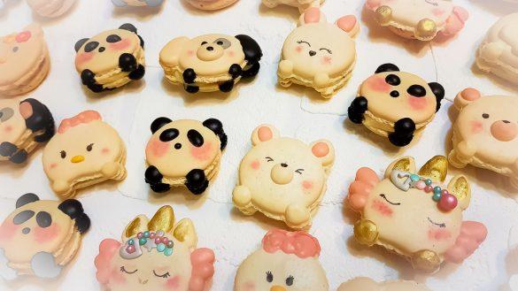 Cuddly Animal Macarons